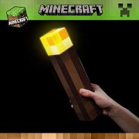 我的世界周边玩具发光火把火炬模型变色瓶灯钻石矿灯创意儿童礼物
