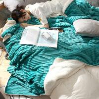 冬季珊瑚绒毯子加厚保暖法兰绒毛毯女学生单人宿舍男冬用午睡盖毯