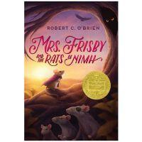 【现货】原版英文 Mrs. Frisby and the Rats of NIMH 费里斯比太太和尼姆的老鼠 纽伯瑞金