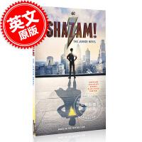 现货 雷霆沙赞 同名电影原版小说 英文原版 Shazam!: The Junior Novel DC漫画英雄 DC C