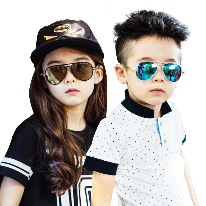 KK树超轻舒适儿童太阳镜男童女童个性防紫外线墨镜小孩眼镜潮时尚潮流 防紫外线 个性舒适
