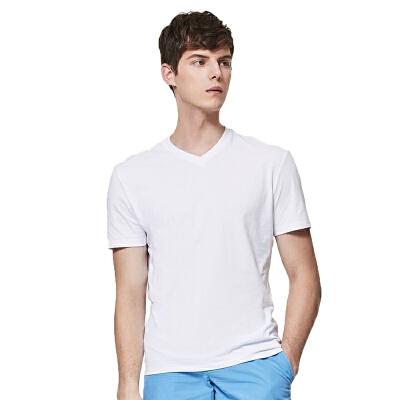 网易严选 男式精梳棉V领短袖T恤衫 经典V领,格调型男之选
