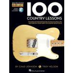 【预订】100 Country Lessons: Guitar Lesson Goldmine Series