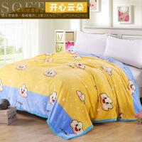 毛毯加厚珊瑚绒毯子冬季床单垫小被子双人单人学生宿舍午睡