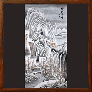 《时和年丰》R5236 石振昌 精品手绘山水画