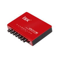 ISK UK600pro笔记本外置声卡套装 电容麦电脑K歌录音USB独立声卡