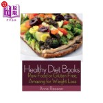【中商海外直订】Healthy Diet Books: Raw Food or Gluten Free, Amazin