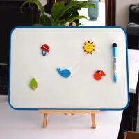 儿童画画板磁性双面写字板宝宝玩具绘画涂鸦可擦小白板挂式支架式