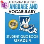 【中商海外直订】Louisiana Test Prep Language & Vocabulary Student Q