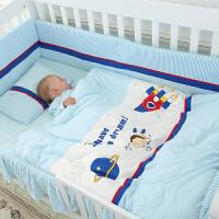 婴儿睡袋宝宝秋冬厚款儿童睡袋宝宝防踢被纯棉睡袋四季被子