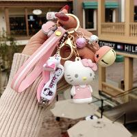 钥匙扣 猫钥匙扣挂件女韩国创意大耳狗卡通钥匙链挂件三丽鸥情侣包挂件
