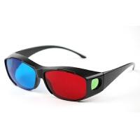 高清红蓝3d眼镜普通电脑3D眼镜 暴风影音三D立体电影电视
