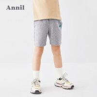 【3件3折价:41.7】安奈儿童装男童短裤2020夏装新款洋气男孩休闲五分裤纯棉运动短裤