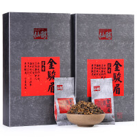 红茶茶叶特级正宗红茶金俊眉浓香型散装茶叶礼盒装320g
