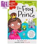 【中商原版】童话学语音:青蛙王子 Reading with Phonics 童话故事 亲子英文 英语学习 语音学习 7