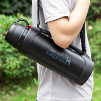 保温水壶大容量户外旅行水杯男车载便携大号不锈钢瓶