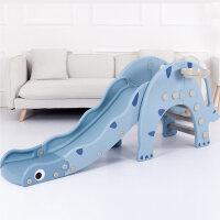 儿童滑滑梯室内室恐龙用多功能组合小型折叠塑料小孩子宝宝滑梯定制