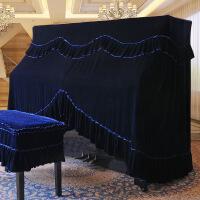 美居钢琴罩全罩半罩加厚丝绒欧式防尘罩全包钢琴披钢琴凳套