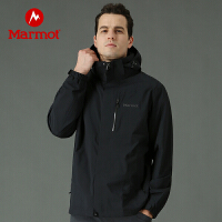 【土拨鼠超级品牌日】Marmot/土拨鼠户外运动男士压胶结构透气保暖夹克外套