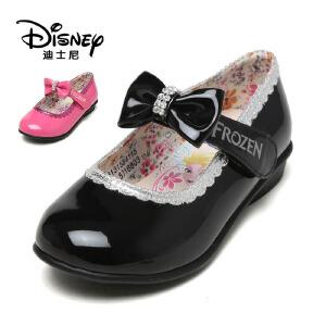 【达芙妮集团】迪士尼 秋甜美花朵女童鞋蝴蝶结耐磨休闲鞋