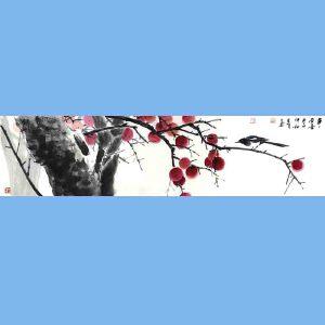 国家一级美术师,中国美术家协会会员,中美协河南创作中心专职画家,河南省国家画协会常务理事沈克明(高事事有喜)