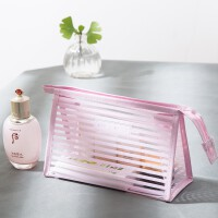 化妆品收纳包大容量便携透明防水可爱小号简约化妆包旅行洗漱包袋