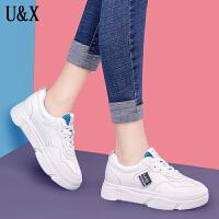 UX新款夏季韩版低帮学生休闲鞋子运动小白鞋女板鞋