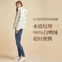 【网易严选 清仓秒杀 冬季保暖】女式轻型加厚羽绒服