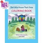 【中商海外直订】The Little House that Grew - Coloring Book