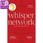"""【中商原版】耳语网络(瑞茜・威瑟斯彭""""你好,阳光""""俱乐部选书)英文原版 Whisper Network 小说 Chan"""