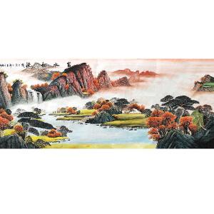 中国美协会员,中国书协会员 侯桂峰(富水长流)51