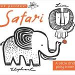 【Wee Gallery】Books: Safari,【小小画廊】旅行队 纸板书