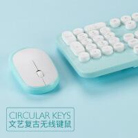 无线键盘鼠标套装游戏办公家用轻薄女生可爱粉色无限键鼠套装