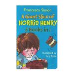 【中商原版】淘气包亨利 3个故事合集:亨利切蛋糕 英文原版 Horrid Henry 3-in-1: Giant Sl
