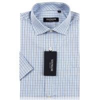 Youngor雅戈尔衬衫男正品商务正装新款免烫短袖衬衣SNP13322-23