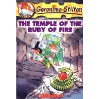 The Temple of the Ruby of Fire(Geronimo Stilton #14)老鼠记者14I