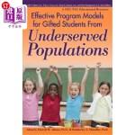 【中商海外直订】Effective Program Models for Gifted Students from U