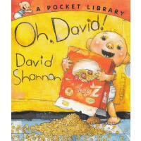 Oh, David!: A Pocket Library [Board book] 大卫宝宝的故事[3本卡板故事套装]