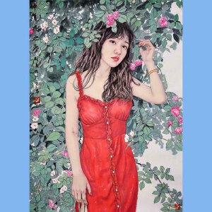 中国美协会员,中国国家机关美术协会会员,中国女画家协会会员刘夏(仲夏之夜)27
