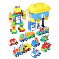 宝宝1-3-6周岁男孩四女孩2-3岁儿童小汽车玩具车变形工程车套装
