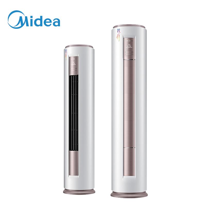 美的(Midea) 大2匹空调柜机 3级能效定频速 客厅冷暖静音立式制冷空调 KFR-51LW/DY-YA400(D3) 澎湃风量广覆盖 百档风速调节 急速速暖