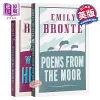 【中商原版】Alma Classics艾米莉・勃朗特作品2册套装 英文原版 呼啸山庄&诗歌集 Poems from t