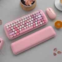 无线蓝牙键盘鼠标套装ipad平板华为手机女生可爱苹果电脑笔记本办公家用