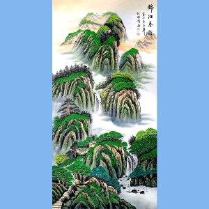 中国美术家协会会员,龙云书画院院长候桂峰(锦江春韵)2