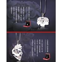 925银质项链女士吊坠项坠*推荐中国风礼物