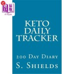 【中商海外直订】Keto Daily Tracker: 200 Day Diary