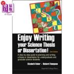 【中商海外直订】Enjoy Writing Your Science Thesis or Dissertation!: