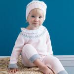 davebella戴维贝拉女宝宝秋冬季长袖连体衣婴儿爬服