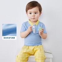 迷你巴拉巴拉男宝宝T恤2020夏季新款儿童童装上衣婴儿纯棉短袖