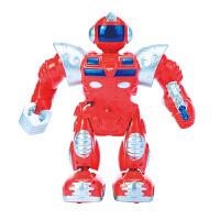 儿童玩具 电动机器人 金刚战士 发光音乐步行 乐州批发